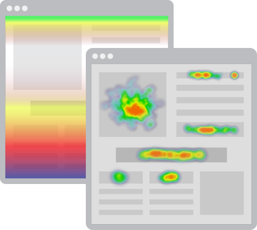 heatmaps scroll click